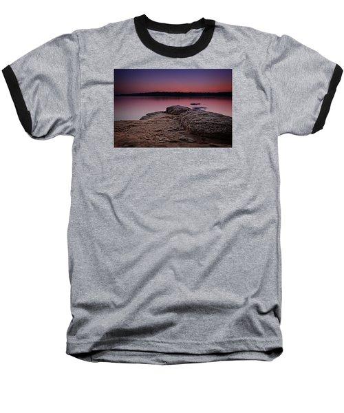 Lake Sunset Viii Baseball T-Shirt