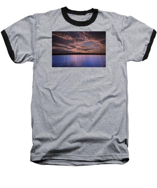 Lake Sunset Xv Baseball T-Shirt