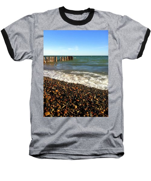 Lake Superior At Whitefish Point Baseball T-Shirt