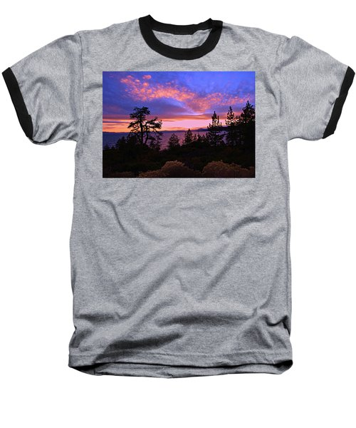 Lake Tahoe Crescendo Baseball T-Shirt