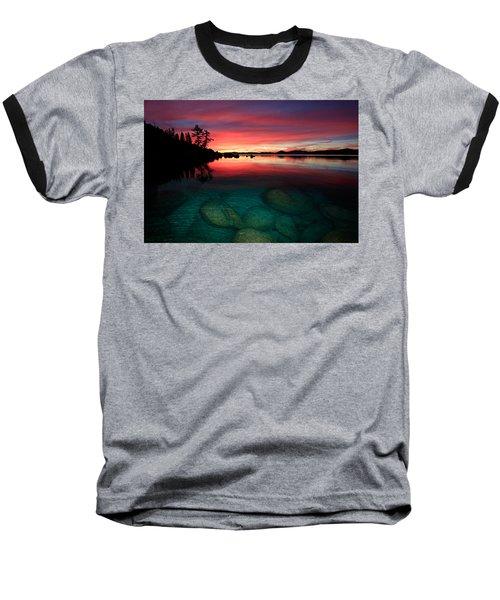Lake Tahoe Jewels Baseball T-Shirt