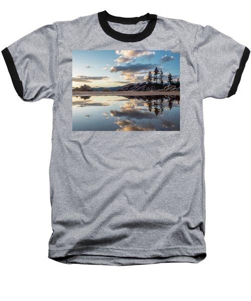 Lake Tahoe Mirror Baseball T-Shirt
