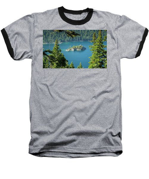 Baseball T-Shirt featuring the photograph Lake Tahoe by RC Pics