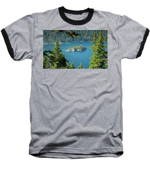 Lake Tahoe Baseball T-Shirt by RC Pics