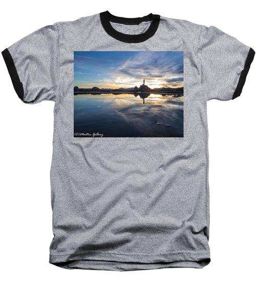 Lake Tahoe Sunset Baseball T-Shirt