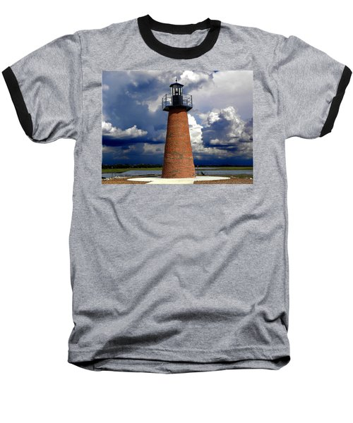 Lake Toho Lighthouse 002  Baseball T-Shirt
