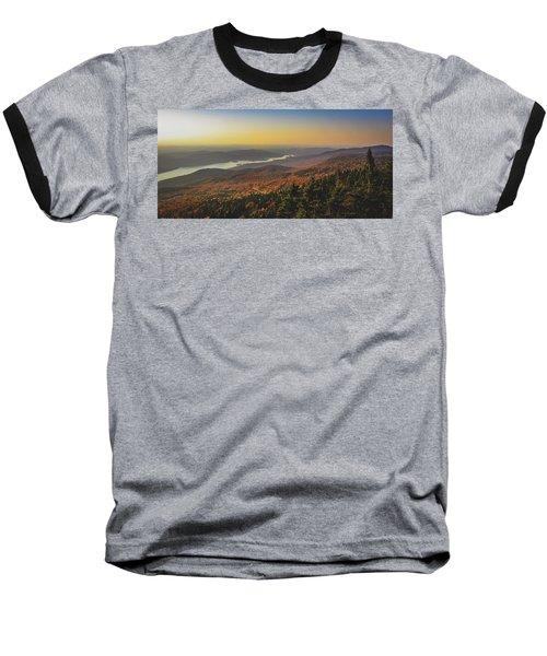 Lake Tremblant At Sunset Baseball T-Shirt