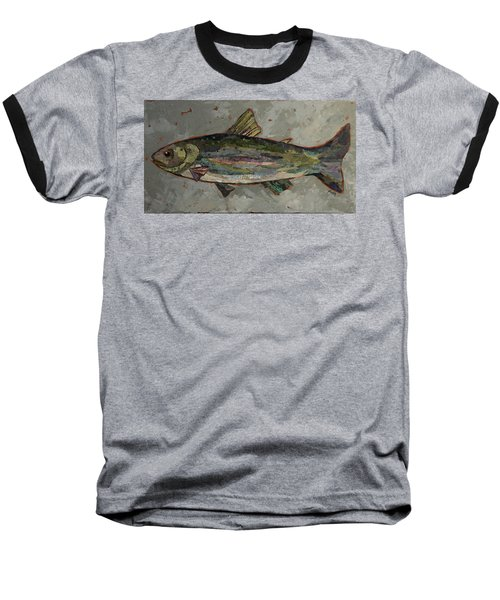 Lake Trout Baseball T-Shirt