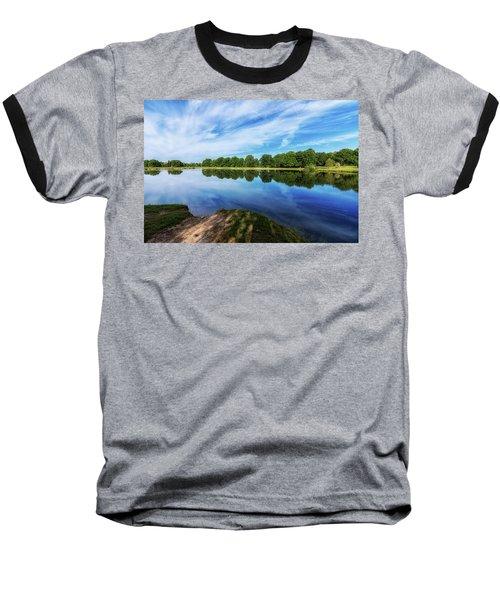 Baseball T-Shirt featuring the photograph Lake View by Tom Mc Nemar