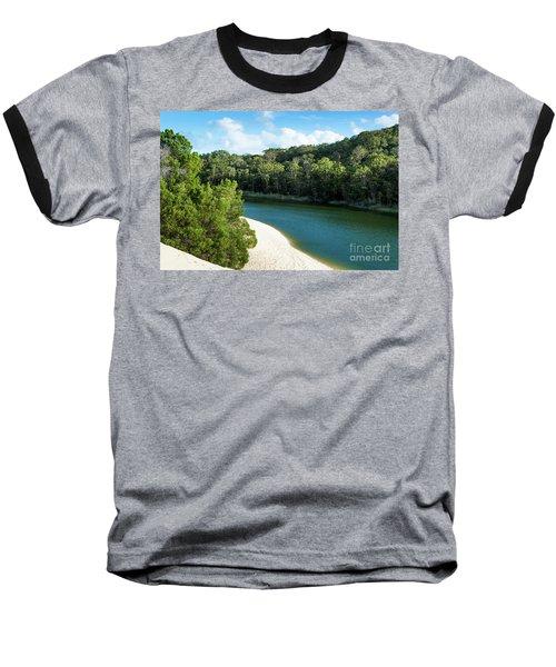 Lake Wabby Baseball T-Shirt