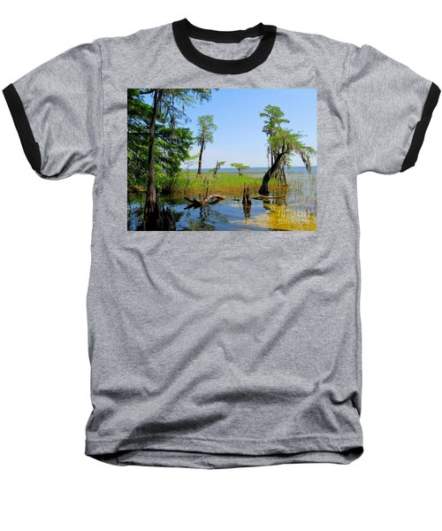 Lake Waccamaw Nc Baseball T-Shirt