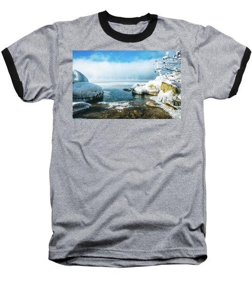 Baseball T-Shirt featuring the photograph Lake Winnisquam by Robert Clifford