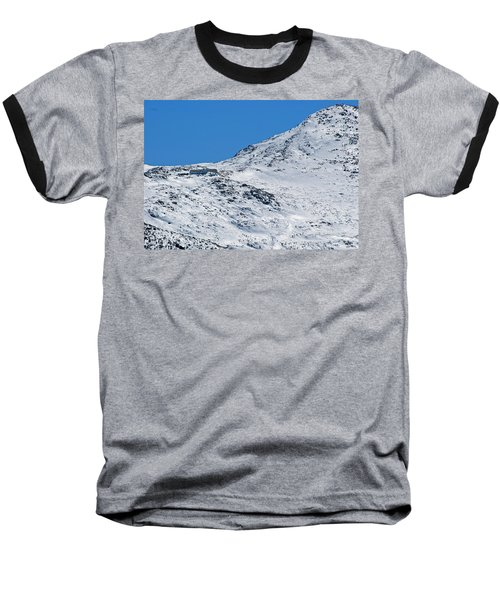 Lakes Of The Clouds Hut And Mount Monroe Baseball T-Shirt