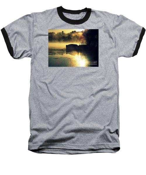 Lakeshore Baseball T-Shirt by France Laliberte
