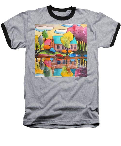 Lakeside Dream House Baseball T-Shirt