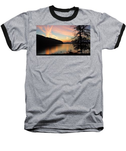 Lakeside Dreaming Baseball T-Shirt
