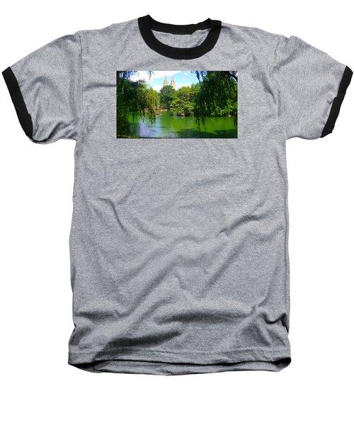 Lakeside In Manhattan, New York Baseball T-Shirt