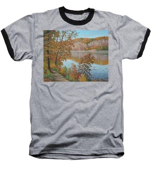 Lakeside In October Baseball T-Shirt