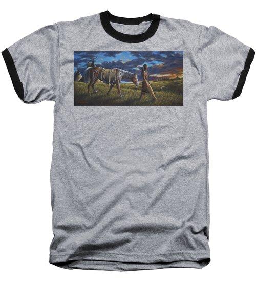 Lakota Sunrise Baseball T-Shirt