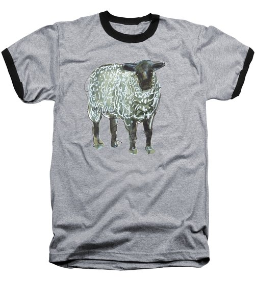 Lamb Art An032 Baseball T-Shirt