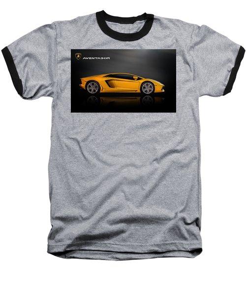 Lamborghini Aventador Baseball T-Shirt by Douglas Pittman