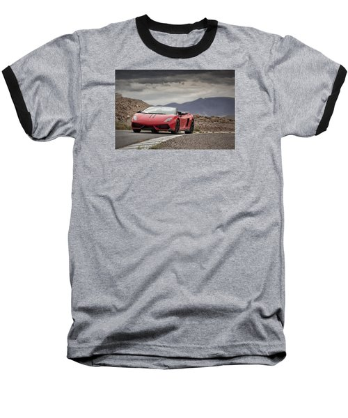 Lamborghini Gallardo Lp570-4 Spyder Performante Baseball T-Shirt