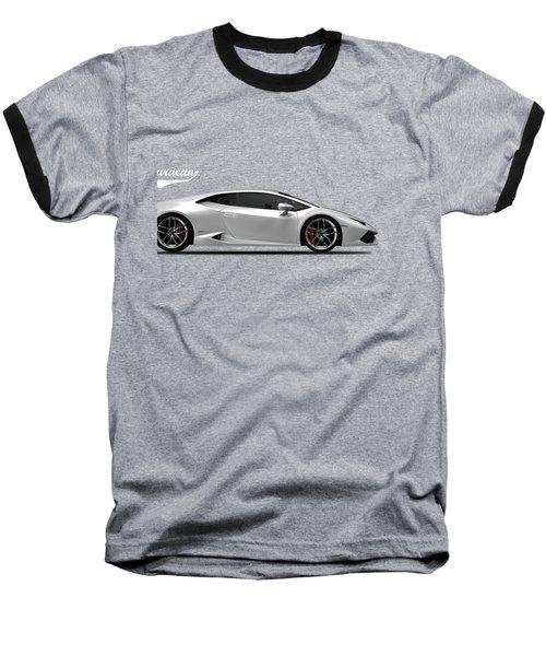 Lamborghini Huracan Baseball T-Shirt by Mark Rogan