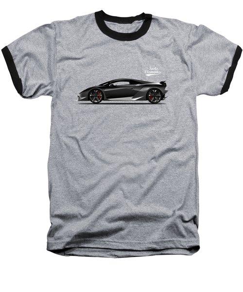 Lamborghini Sesto Elemento Baseball T-Shirt