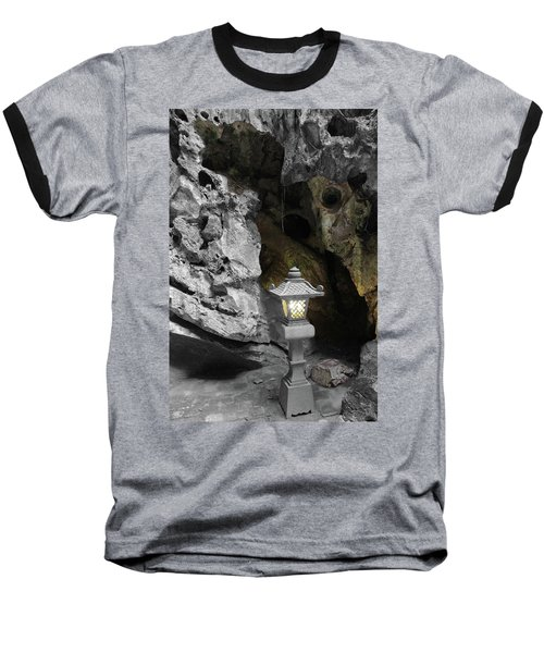 Lamp In Marble Mountain Baseball T-Shirt