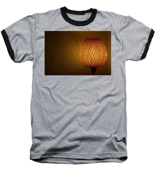 Lamp Baseball T-Shirt by RKAB Works