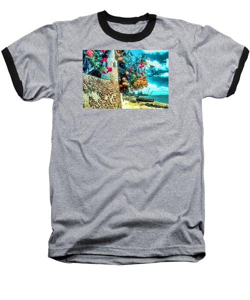 Lamu Beach Baseball T-Shirt