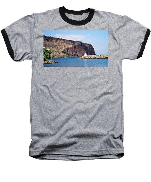 Lanai Harbor Baseball T-Shirt
