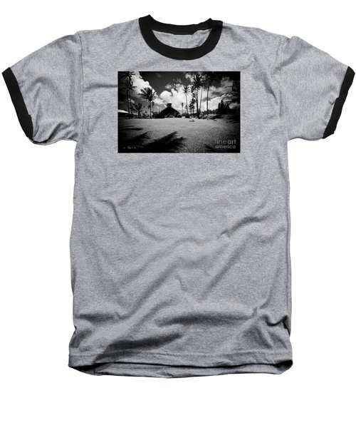 Baseball T-Shirt featuring the photograph Lanakila Ihiihi O Iehowa O Na Kaua Church Keanae Maui Hawaii by Sharon Mau