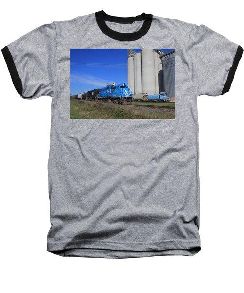 Lancaster Chester Train 14 Passes Circle S Baseball T-Shirt