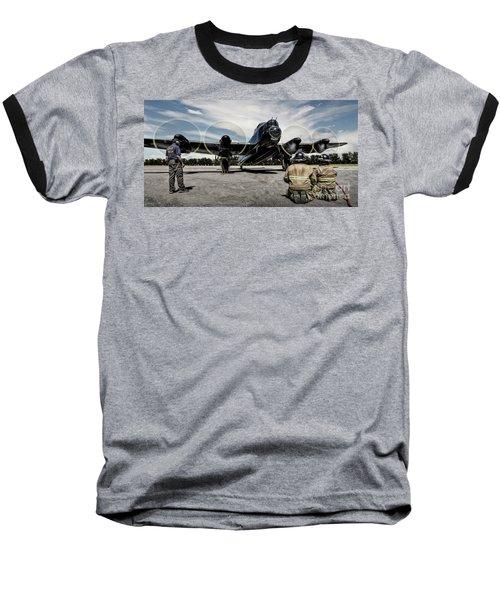 Lancaster Engine Test Baseball T-Shirt