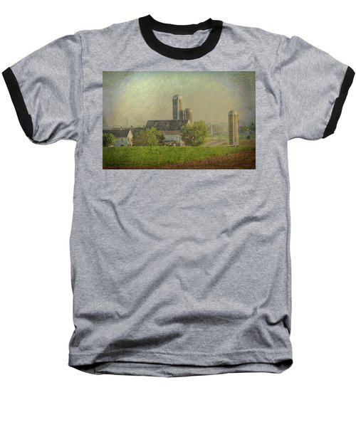 Lancaster Pennsylvania Farm Baseball T-Shirt