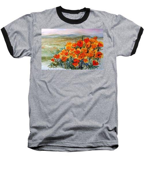 Lancaster Poppy Fields Baseball T-Shirt