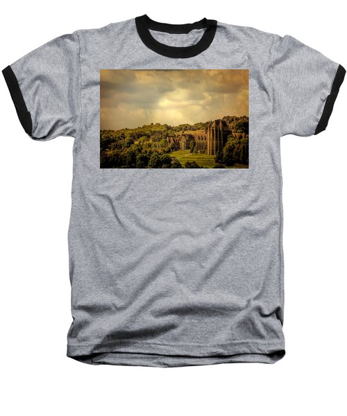 Baseball T-Shirt featuring the photograph Lancing College by Chris Lord