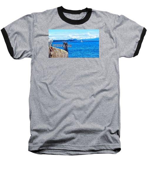 Land And Sea Baseball T-Shirt