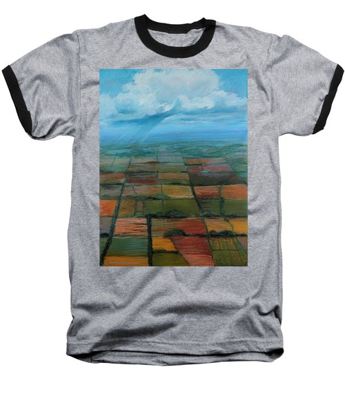 Land Art Baseball T-Shirt