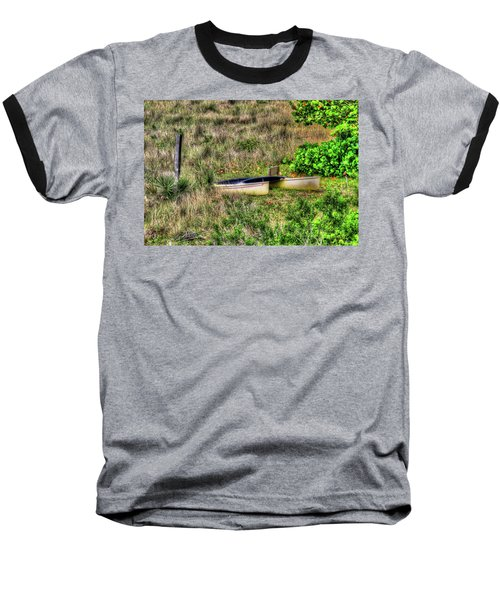 Baseball T-Shirt featuring the photograph Land Locked by Tom Prendergast