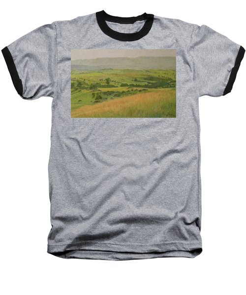 Land Of Grass Baseball T-Shirt