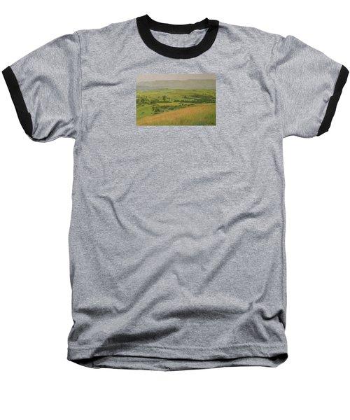 Land Of Grass Baseball T-Shirt
