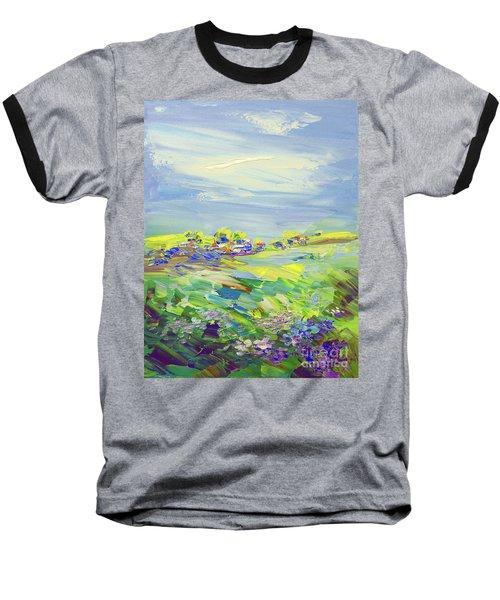 Land Of Milk And Honey Baseball T-Shirt by Tatiana Iliina