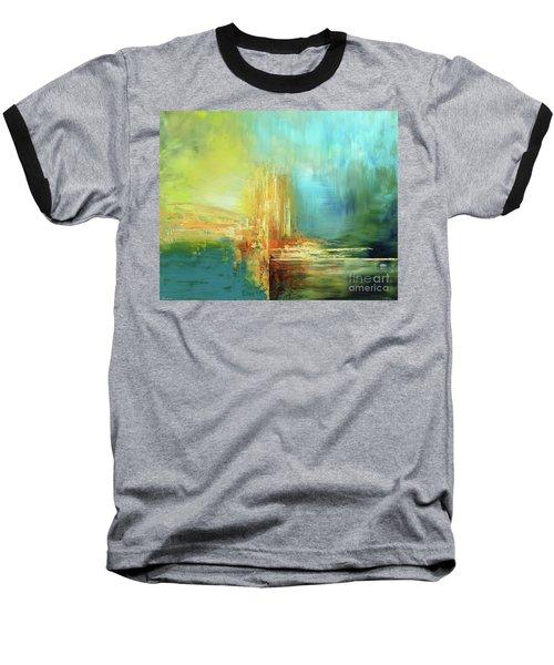 Land Of Oz Baseball T-Shirt by Tatiana Iliina