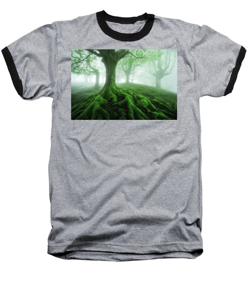 Land Of Roots Baseball T-Shirt