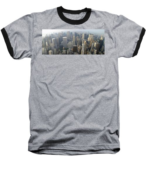 Land Of Skyscapers Baseball T-Shirt by Aaron Martens