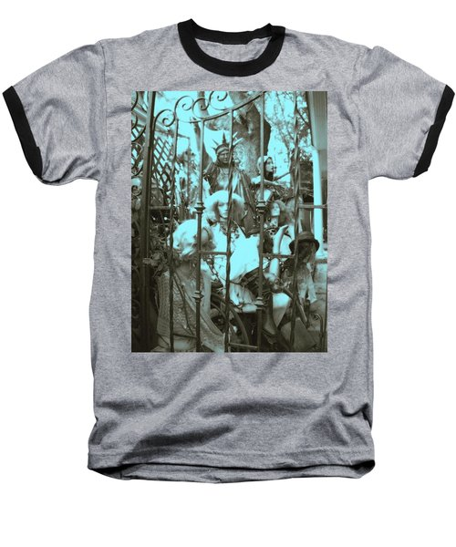 Baseball T-Shirt featuring the photograph America Land Of The Free by Susan Carella