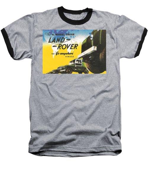 Land Rover Baseball T-Shirt