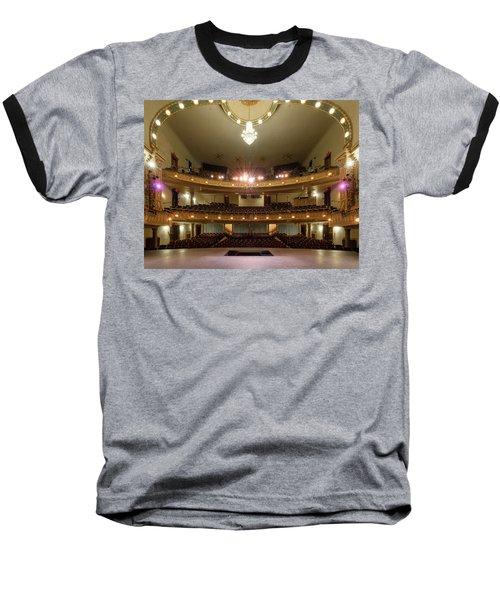 Landers Theatre Baseball T-Shirt